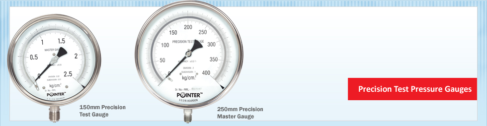 Precision Test Pressure Gauges